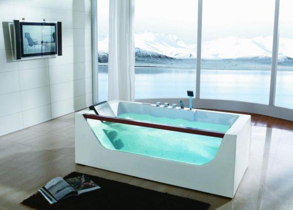 Whirlpool Texas 173x83 Badewanne Sonderpreis sofort lieferbar freistehend für 1 Person