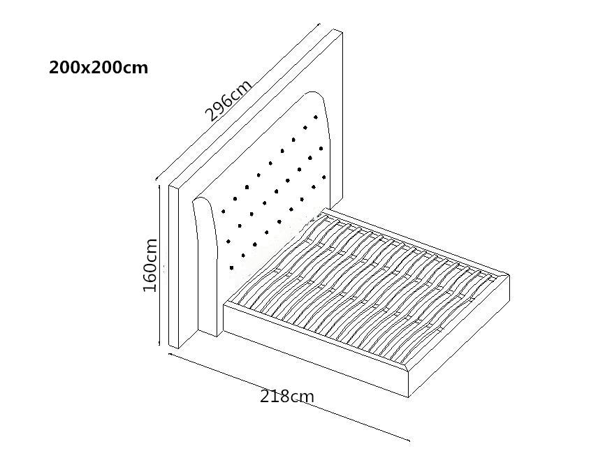 designer bett 200x200 lederbett doppelbett livorno von salottini wohnwelt24h wohnwelten24h