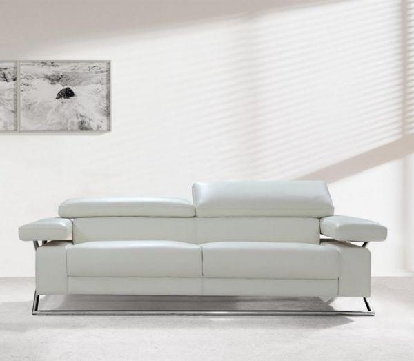 3er Ledersofa 3-Sitzer Sofa Couch Samuele Leder von Salottini