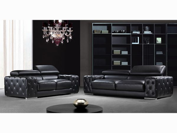 sofagarnitur 3 2 1 fabrizio leder wohnwelten24h. Black Bedroom Furniture Sets. Home Design Ideas
