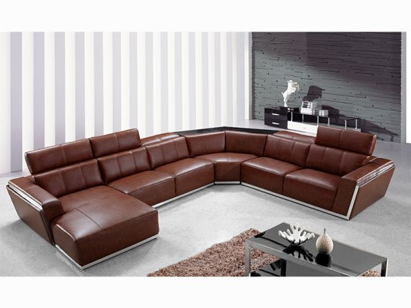 leder designer ecksofa wohnlandschaft fabiano wohnwelten24h wohnwelten24h. Black Bedroom Furniture Sets. Home Design Ideas